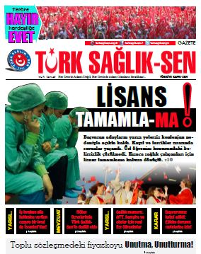 Gazete Türk Sağlık Sen 46. Sayı